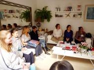 geocromoterapia, conciencia, curso'10 Brasil