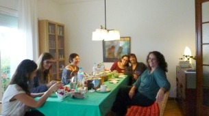 almuerzo- cursos- Marta_Povo- escuela- CSIS Jardín- Geocromoterapia- Sanación