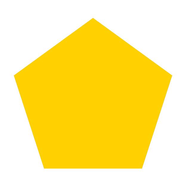 pentagono amarillo-Geocrom-M.Povo